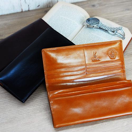 風水緑の財布デス