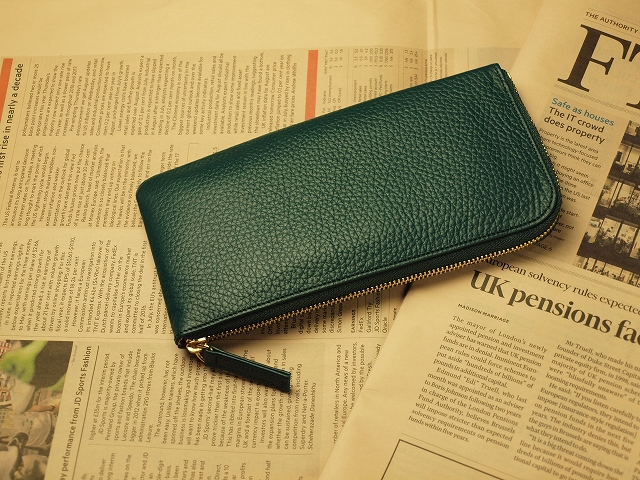 財布屋グリーンのレジさっと